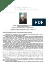 [20111021FS-ID_HB] Khotbah Jumat Imam Jemaah Muslim Ahmadiyah Tanggal 21 Oktober 2011