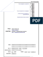 Peka Physics - Simple Pendulum [Answer]