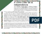 Bolívar como Líder de la Independencia