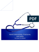 6 - Hand Deformities, Fractures, And Palsy
