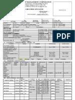 Application Form. (1)