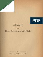 Diego de Almagro y La Conquista - Sergio Villalobos