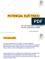 Unidad II Potencial Electrico