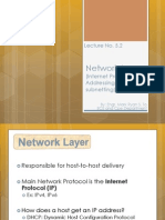 Network Layer Sc
