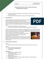 Práctica N°4 - Ensayo de determinación de acidez en harinas y metodo volumetrico y determinación de pH en harinas