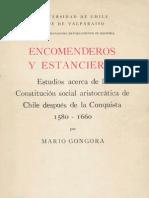 Encomenderos y Estanqueros - Mario Góngora