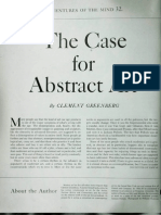 Green Berg, Clement - The Case for Abstract Art