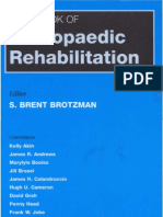 Handbook of Orthopedic Rehabilitation