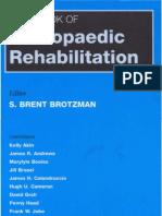 Handbook of Orthopedic Rehabilitation
