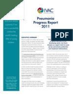 Ivac-2011 Pneumonia Progress Report