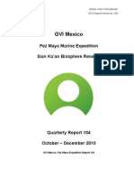 GVI Pez Maya Quarterly Report Oct-Dec 2010 Final