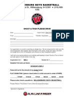 Williamsburg Boys Basketball Front of Letter With-LOGO