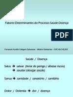 Fatores Determinantes do Processo Saúde-Doença PPT 97-2003