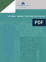 EU Banks Funding Structures Policies