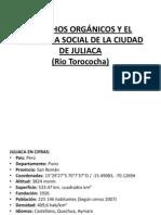 DESECHOS ORGÁNICOS Y EL PROBLEMA SOCIAL DE LA