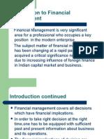Financial Management - An OverView P-0