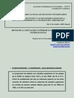 Documento 2 Desafios de Los Docentes y La Trans for Mac Ion de La Educacion Superior