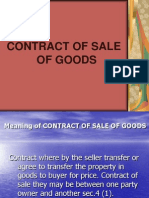 1 Contract of Goods