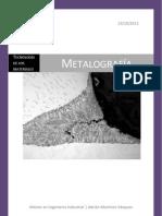 La Metalografia