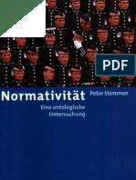Normativität Peter Stemmer