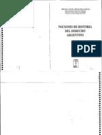 Ortíz Pellegrini, Miguel- Nociones de Historia del Derecho Argentino- Tomo II