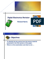 Digital Electronics Revision