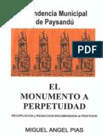 Pias, Miguel Angel - Monumento a Perpetuidad