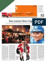 Zagreb in Der Sonntagszeitung