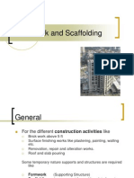 Formwork and Scaffolding