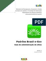 Padrões Brasil e-GOV - Guia de Administração v12