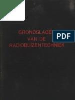 grondslagen van de radiobuizentechniek [principles of radio tube technology] (1943)