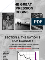 Notes- The Great Depression