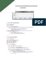 Passo a Passo Para Criar Uma Tela de Cadastro Java