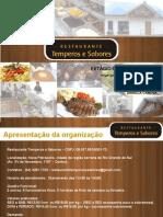 Estágio - Restaurante Temperos e Sabores