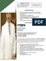 Khalid Natto's Resume