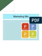 7 Marketing Mix Comprehensive