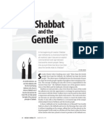 Shabbat and the Gentile