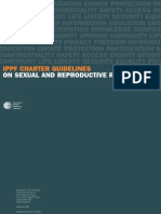 Ippf Charter on Sexual and Reproductive Rights Guidlines