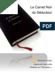 Sebastien Night - Le carnet noir du séducteur
