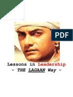Lagaan - Leadership