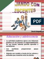 ADOLESCENCIA auxiliares