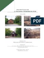 Wayland Railroad Interpretive Site Hines Wasser Report 2005