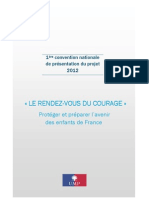 Dossier UMP - Convention Courage