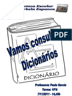 Formação de Dicionários