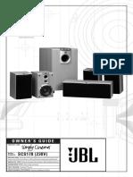 JBL SCS178 Manual