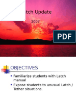 Latch Update 2007