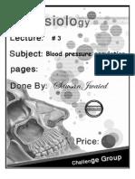 Blood Pressure Regulation Script
