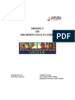 Fms Project-microfinance in India