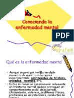Conociendo La Enfermedad Mental. AGRAFEM