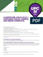Sede UPC San Isidro
